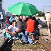 CNTE y Segob llegan acuerdo y se liberan las vías de Michoacán