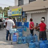'Mega sequía' en Tamaulipas genera compras de pánico de agua purificada y preocupación entre la población