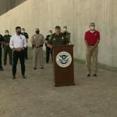 Finalizan construcción de 400 millas del muro fronterizo en McAllen, TX