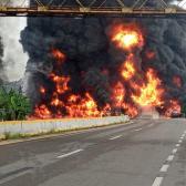 Se registra explosión de pipa en Tabasco; Hay cuatro muertos