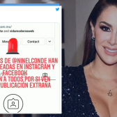 Hackean redes sociales de Ninel Conde