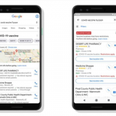 Google Maps enseñará centros de vacunación Covid-19