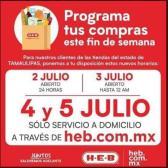 Ante cierre de fin de semana, HEB anuncia horario de 24 hrs