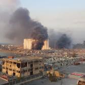Se registra explosión en fábrica de pirotecnia de Beirut