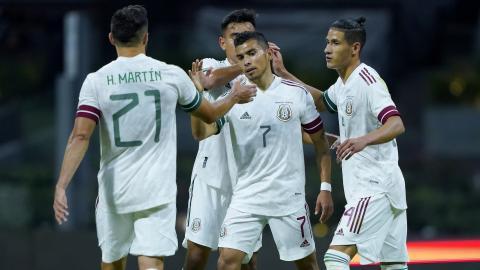 México golea a Guatemala de cara a su viaje a Europa