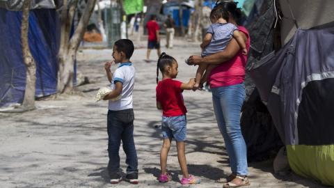 Continúa en aumento los niños migrantes sin acompañantes