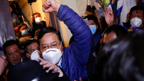 Tribunal declara presidente electo de Bolivia a Luis Arce