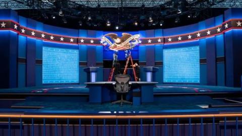 Tras polémico encuentro, cambian reglas del debate presidencial en EU