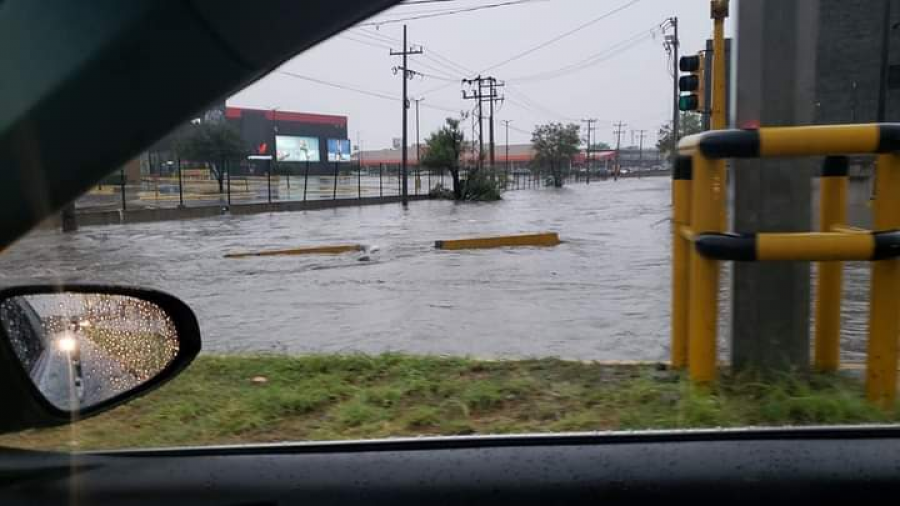 Comienzan las afectaciones en Reynosa por lluvias