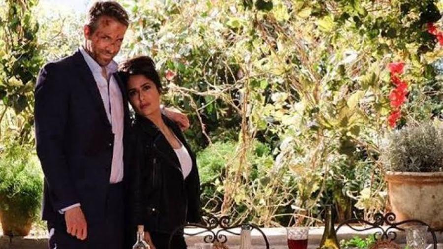 """Ve el primer vistazo de """"Duro de cuidar 2"""", con Salma Hayek y Ryan Reynolds"""