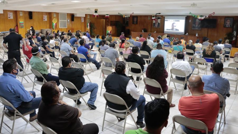 SJOIIM ofrece conferencia sobre la Legitimación de Contratos Colectivos