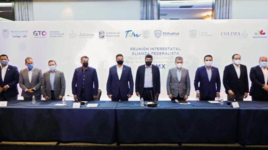 Propone Alianza Federalista mecanismo para revertir recortes a los estados en el PEF2021