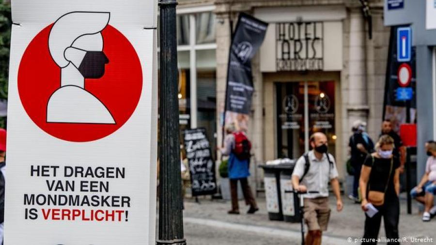 Cierran bares en Bélgica y se impone toque de queda