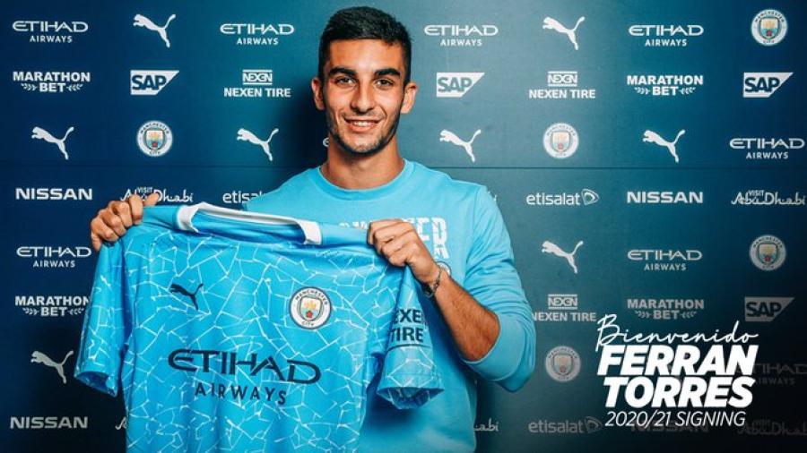 Manchester City ficha a Ferran Torres