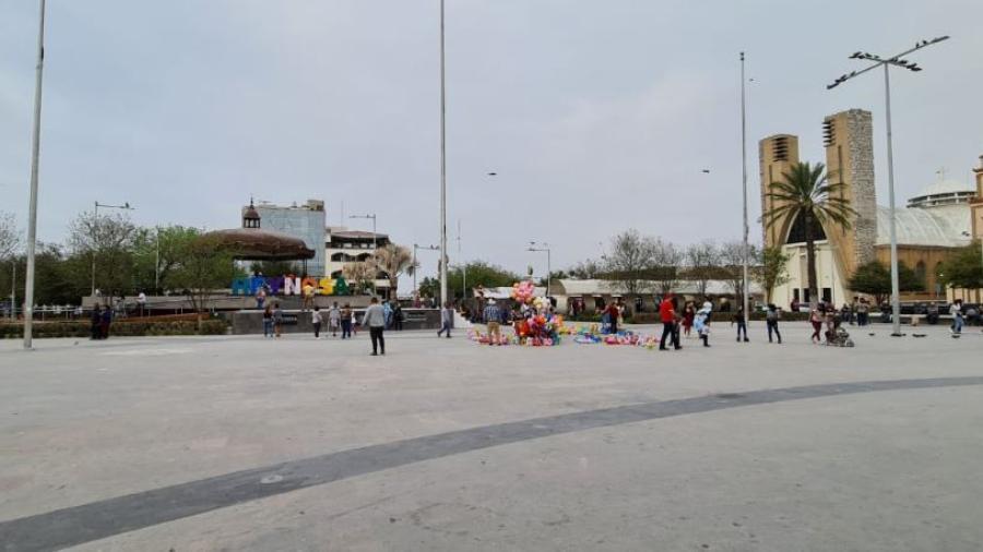 Arribará a Reynosa frente frío # 47