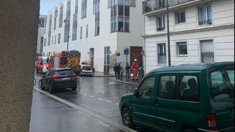 Ataque con arma blanca deja dos heridos cerca de la antigua sede de Charlie Hebdo en París