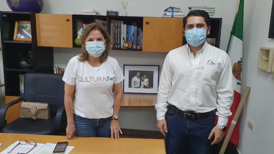 Jóvenes Tamaulipas y Cultura Tamaulipas unen lazos en beneficio de la juventud tamaulipeca