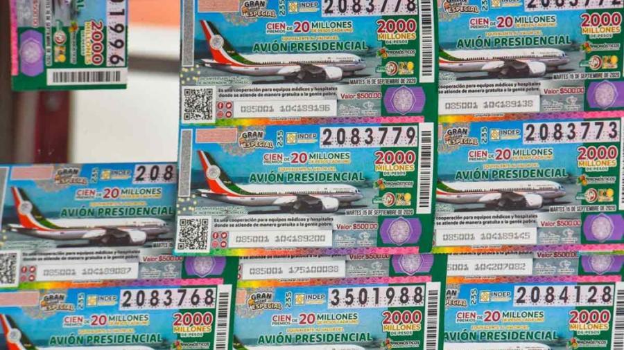 Venderán cachitos para la rifa del avión en Cámara de Diputados
