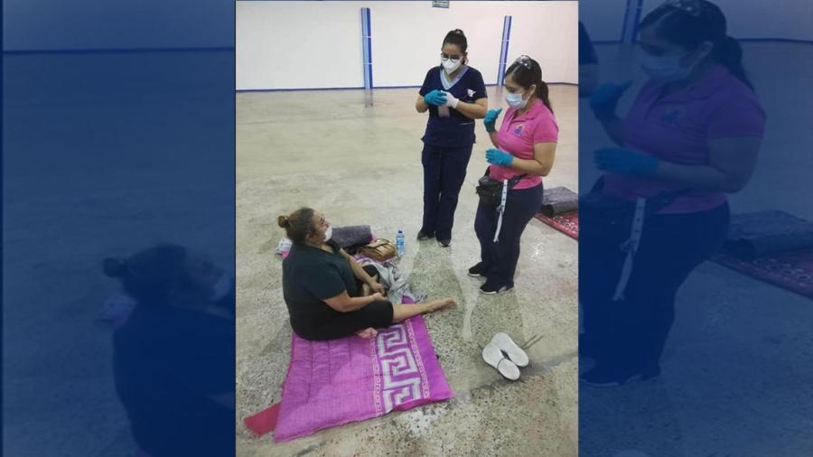DIF Reynosa brinda atención a albergues