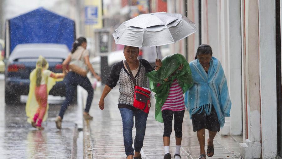 Se prevén lluvias puntuales muy fuertes en Oaxaca, Chiapas y Quintana Roo