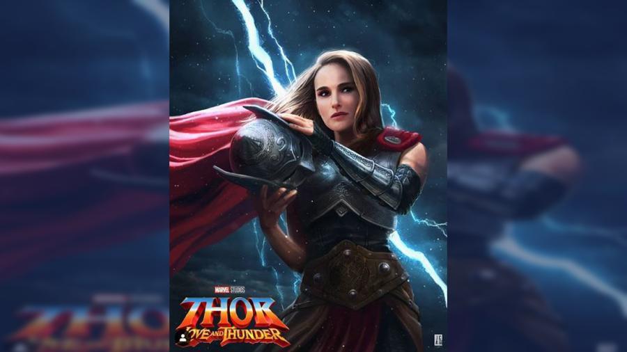 """Así lucirá Natalie Portman como la """"Diosa del Trueno"""" en el MCU"""