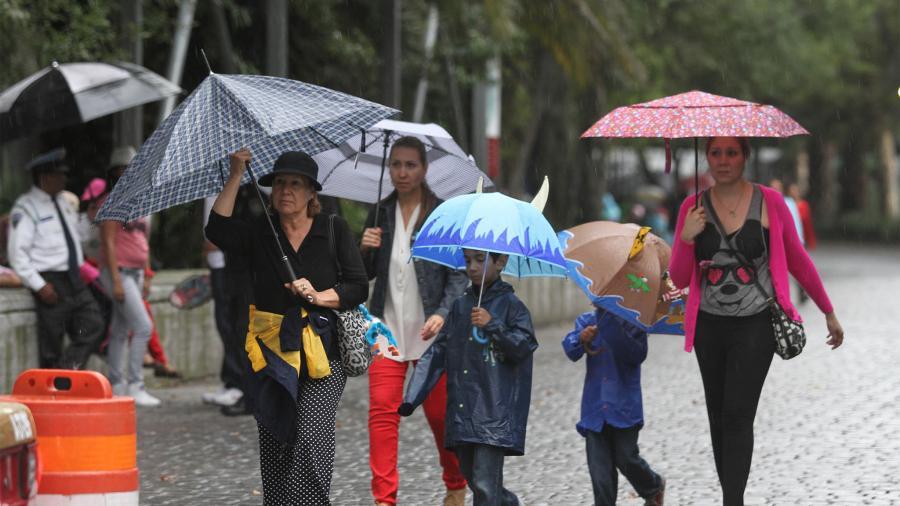 Se pronostican lluvias intensas en varios estados del país