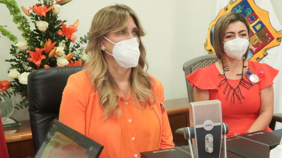 Brinda Alcaldesa de Reynosa mensaje con el ITM en conmemoración a las mujeres