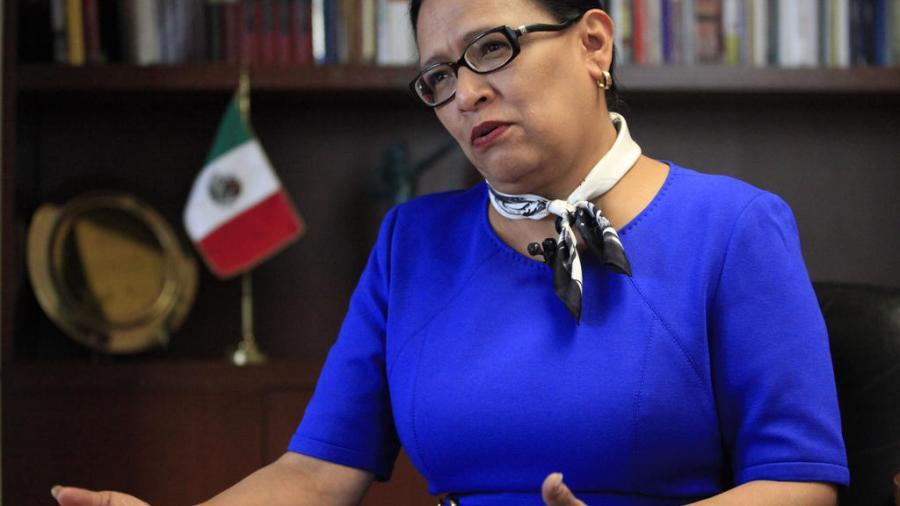 Rosa Icela Rodríguez, coordinadora de Puertos y Marina Mercante de la SCT, da positivo a COVID-19