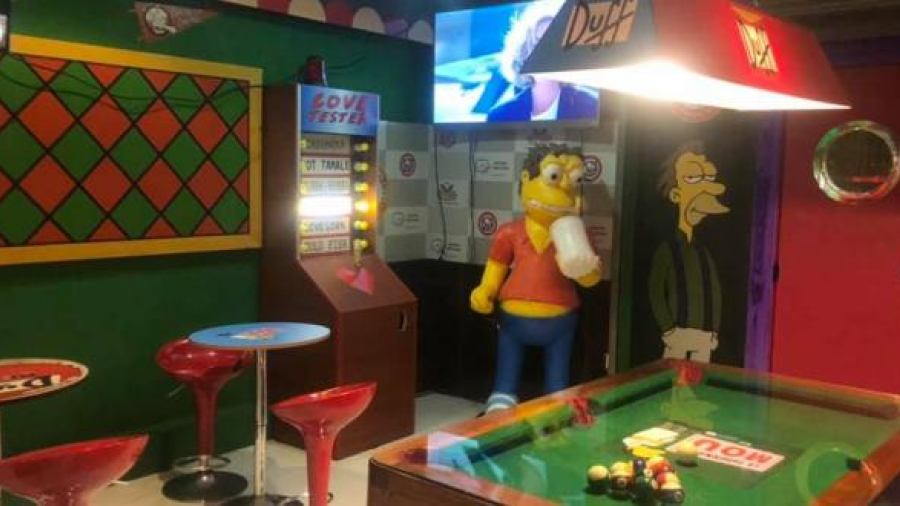 Recrean el Bar de Moe de Los Simspon