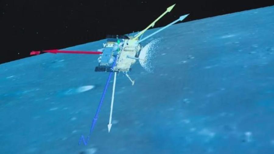 Sonda China llega con éxito a la luna; recogerá muestras lunares