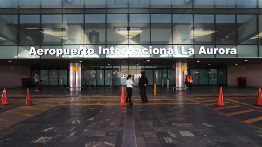 Aeropuerto Internacional de Guatemala se alista para el regreso de actividades