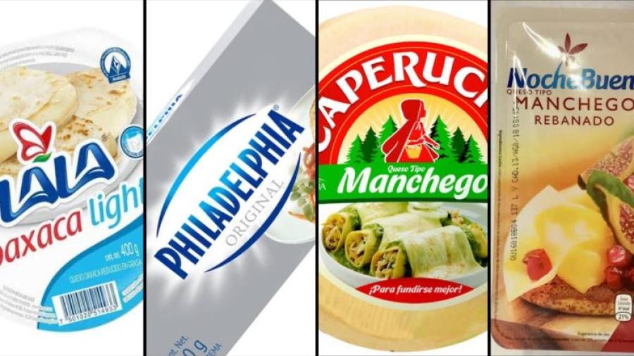Gobierno prohíbe a Fud, Lala, Philadelphia y otras marcas vender quesos por incumplimiento de normas