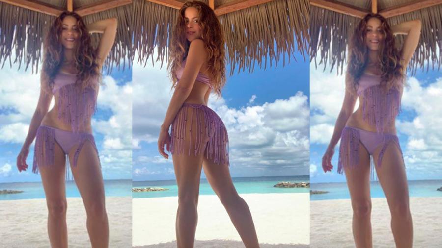 Shakira enloquece a fans con fotos en bikini