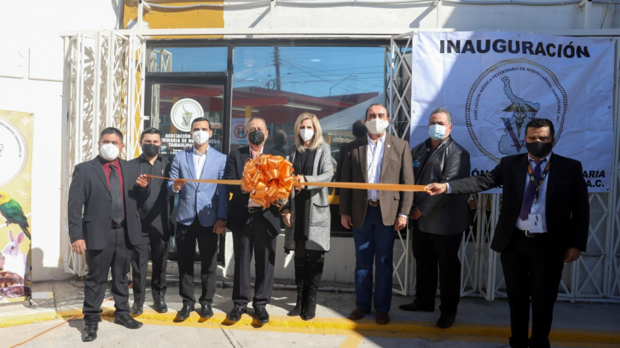 Inaugura oficinas la Asociación Médica Veterinaria de Nuevo Laredo