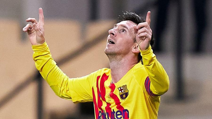 Messi es el cuarto mejor goleador de la historia