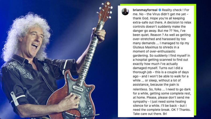 Brian May reveló que sufrió un ataque al corazón