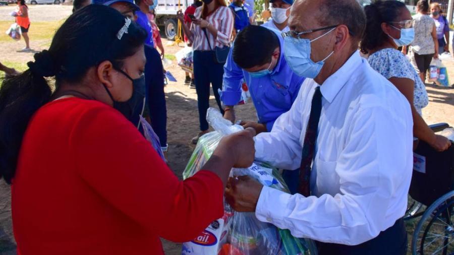 DIF Reynosa llevó a las familias de la Colonia Villa Esmeralda servicios médicos y asistenciales