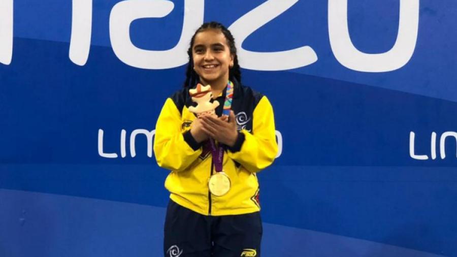 Con 13 años de edad y un futuro imprescindible en la natación