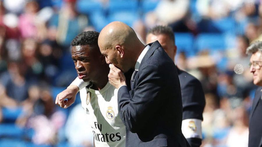 'El celular' sería la razón por la que Zidane no cuenta con Vinicius para jugar