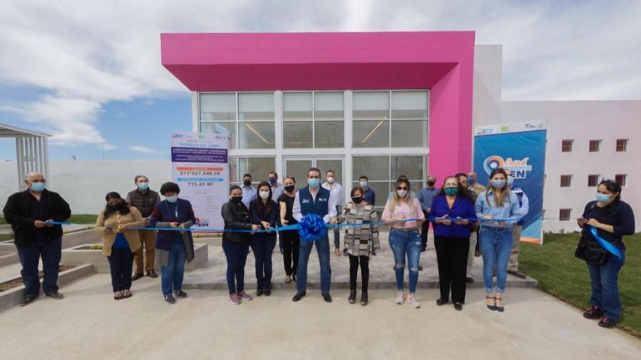 Entrega Alcalde de Nuevo Laredo 'centro comunitario mujer total'