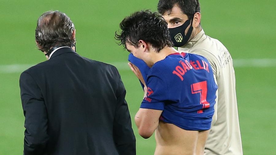 Joao Félix se lesiona y es duda para el Atlético de Madrid
