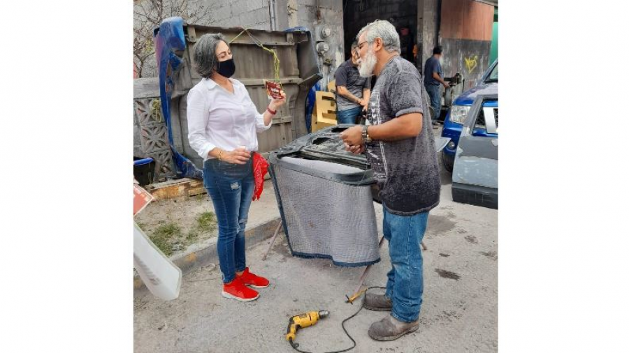 Votos de la colonia Hidalgo para la coalición 'Juntos Hacemos Historia'