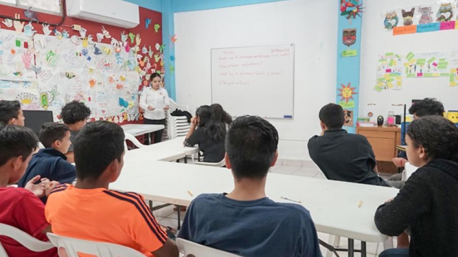 Atiende Camef a 58 menores migrantes en lo que va del año