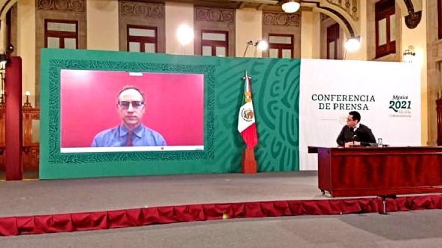 López-Gatell se encuentra aislado por contacto con AMLO