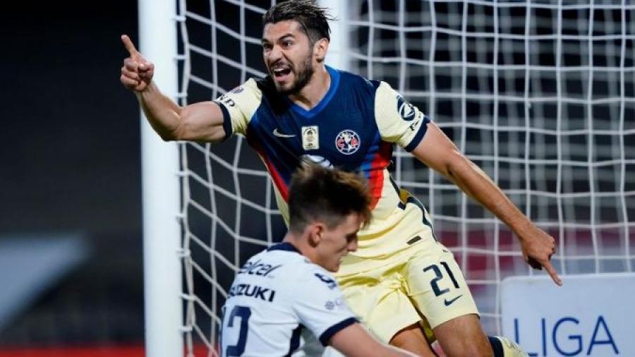 América vence 1-0 a los Pumas y los elimina del Guardianes 2021