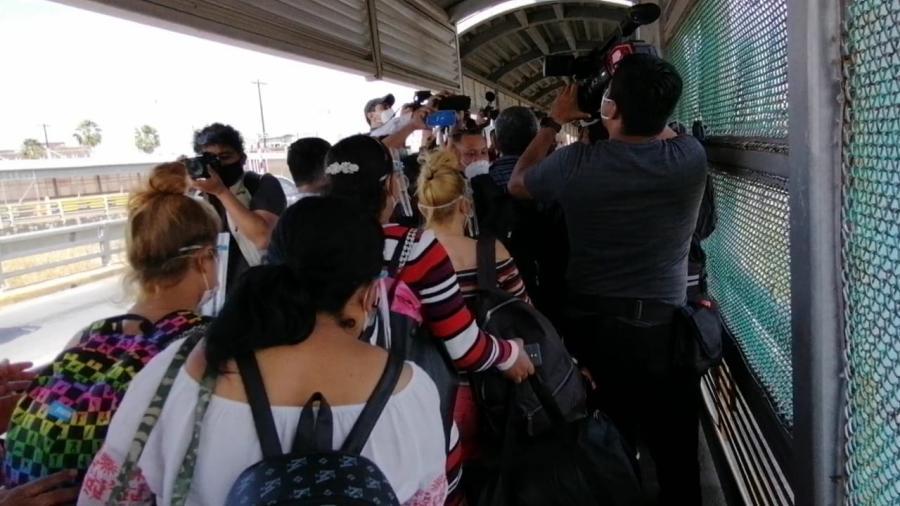 No se detendrá el cruce de migrantes hasta vaciar el campamento: Padre Gallardo