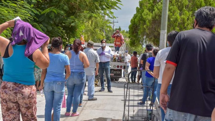 """""""DIF Reynosa en Tu Casa"""" benefició a familias del Fraccionamiento Villas de Imaq"""
