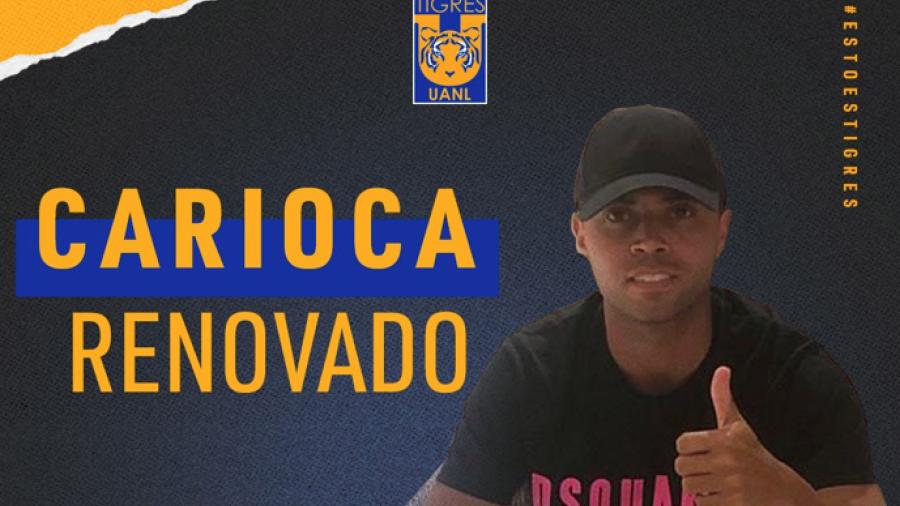 Rafael Carioca renueva contrato con Tigres