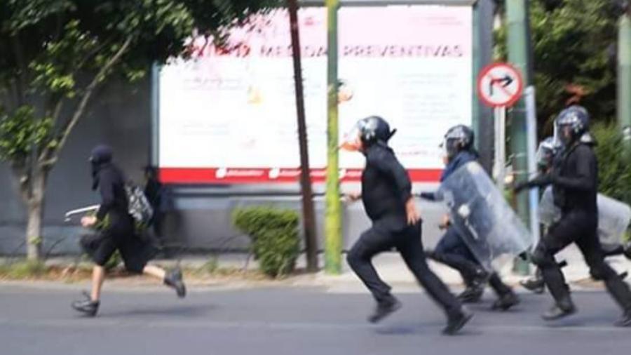 Caso Melanie, joven agredida durante protestas por Giovanni y Floyd causa indignación