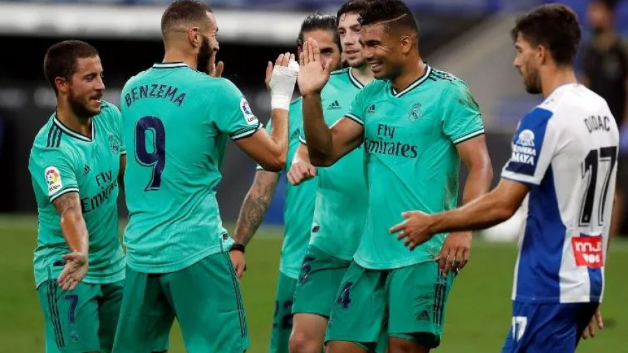 Real Madrid se mantiene como líder de LaLiga